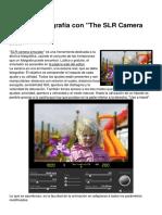 Aprende Fotografia Con the Slr Camera Simulator 7596 Lvfg5l