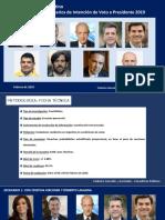 Encuesta Federico González y Asociados