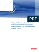 TG 70197 Chromeleon 7 CDS Comply 21 CFR Part 11 TG70197 E