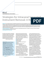 Strategies for Intracanal Separated Instrument Removal