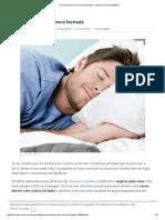Como Dormir Com a Boca Fechada - 5 Passos (Com Imagens)