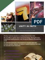 Unity in Faith
