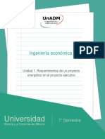 Unidad1.Requerimientosdeunproyectoenergeticoenelproyectoejecutivo
