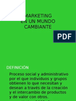 CBT01 - Marketing  en un mundo cambiante