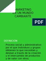 CBT01 - Marketing  en un mundo cambiante