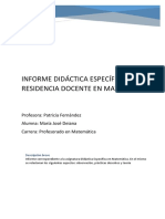 Informe Didáctica 2017 17-09-2017
