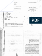 La estructura paródica del Quijote - Juan Ignacio Ferreras
