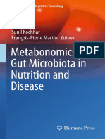 (Molecular and Integrative Toxicology) Sunil Kochhar, François-Pierre Martin (Eds.)-Metabonomics and Gut Microbiota in Nutrition and Disease-Springer-Verlag London (2015)