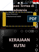 Power Point Kerajaan Tertua Di Indonesia Www Abycinta Wordpress Com