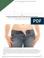 Confira Cinco Problemas de Saúde Causados Pelo Uso de Roupa Apertada _ GaúchaZH
