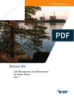 Life Management and Maintenance for Power Plants Vol. 1