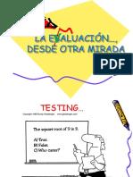1-La Evaluación Desde Otra Mirada