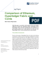 2017 Comparison of Ethereum Hyperledger Corda