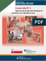 Cuadernillo Nº 2. Desarrollo de Sistemas de Protección Integral de Derechos en el Ámbito Local