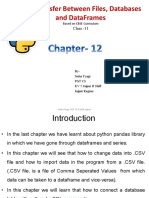 Chapter 12eng Data Transfer Between Files SQL Databases and DataFrames