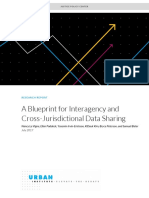 Blueprint for Interagency Cross Jurisdictional Data Sharing