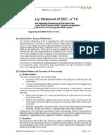 IMDS Data Privacy