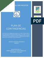 PLAN DE CONTINGENCIA OHSA HOSPITAL SAN MARTIN