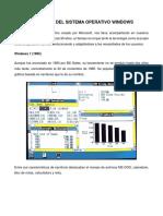Versiones Windows