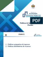 Políticas de Ingresos y Gastos Fiscales-1