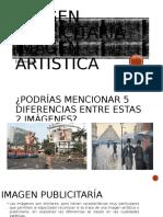 Diferencias Entre Imagen Artistica y Publicitaria