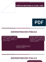 Administración Pública en Torno a La Ingeniería Civil
