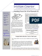 10.23.10 Courier Newsletter