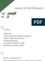 (2.2 Air Pollution Dispersion)
