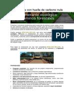 Vias Verdes Con Huella de Carbono Nula