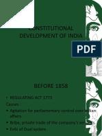 Constitutional Development of India