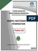 [5] Naskah Soal Usbn Paket 2 (Susulan) (1)