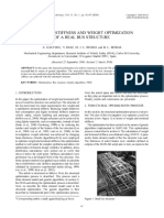 7 Torsional Stiffness and Weight Optimization