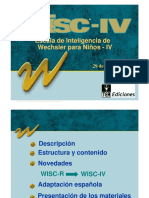 WISC IV Descripcion