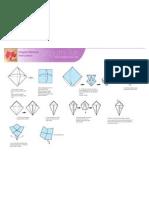 Origami Blossom Print
