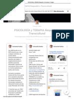 PSICOLOGIA y TERAPIA Nequodah y Transcultural - Google+ Fernando Pardos Diaz (Completo 16-2-2019, 130 pags)
