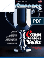 AutoSuccess; Courtesy Chevrolet Awarded eCRM Dealer of the Year