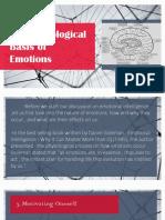 Neurological Basis of Emotions