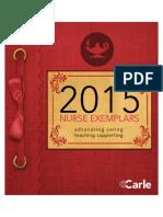2015 Exemplar Program