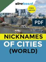 eBook Nicknames of Cities