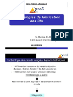 Techno de Fabrication Des CIs 1