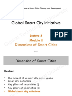 Globle Smart City Initiatives
