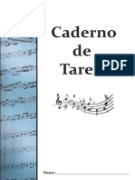 Caderno de Tarefa MTS.