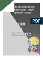 Presentacion Nomina y Pasivos Laborales Actualizado LOT 2012