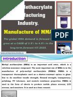Methyl Methacrylate Manufacturing Industry