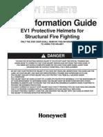Helmets NFPA 1971 EV1 User Guide