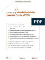 Eficacia y Efectividad de Las Vacunas Vph
