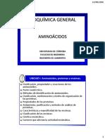 1.1 - AMINOACIDOS