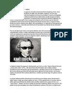 Hipótesis nebular de Kant