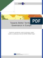 ESPON Governance Handbook