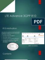 Lte Advance 3gpp r10